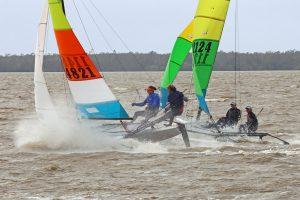 QLD Hobie 16 state titles 2021 Lake Cootharaba
